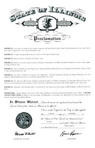 illinois-proclamation
